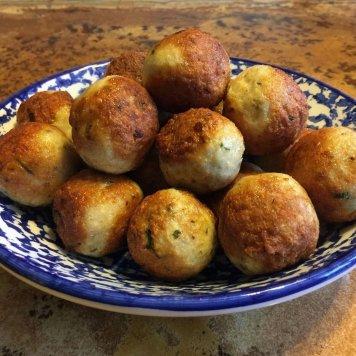Chicken + sage meatballs