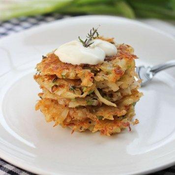 Crispy mini potato rosti